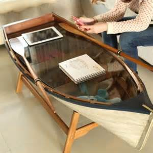 Boat coffee table inspiration int 233 rieur pinterest