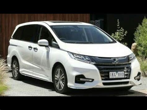 2019 honda odyssey minivan awd | first look youtube