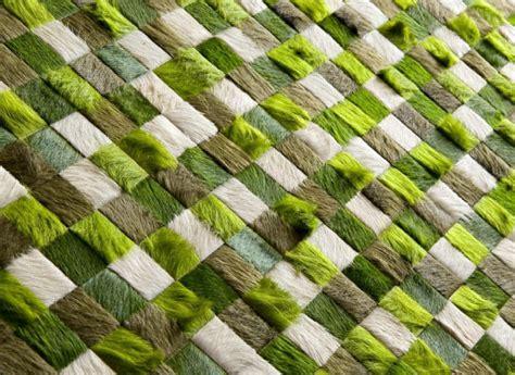 Kyle Bunting Modern Cowhide Rugs Interiorzine Modern Green Rugs