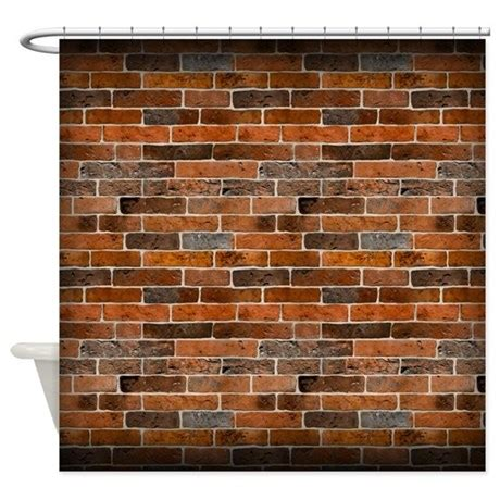 brick wall curtain brick wall shower curtain by thehappymuse