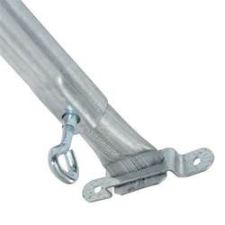 adjustable awning pole adjustable awning spreader pole 2 75m flat hook to eye