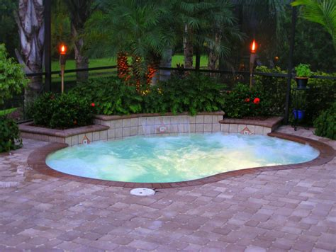 swimming pools for small backyards triyae small backyard inground pools various