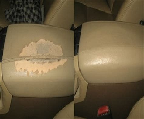 leather upholstery repair chicago leather repair services color match same day before and