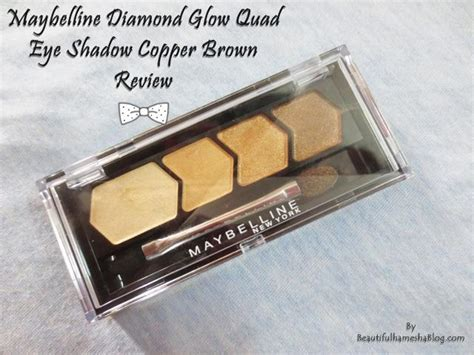 Eyeshadow Maybelline Glow maybelline glow eye shadow copper brown review