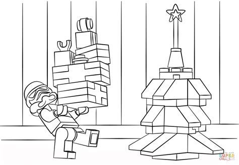 lego star wars clone christmas coloring page free