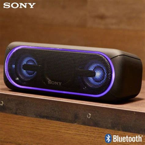light up portable speaker sony srs xb40 portable bluetooth lightshow speaker