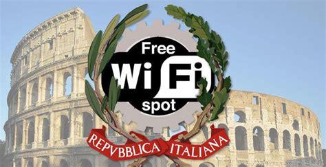 wifi uffici pubblici verso il wi fi gratuito con credenziali uniche negli
