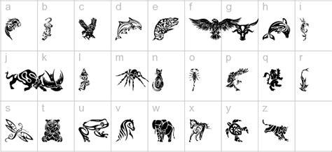animal tattoo fonts free tribal animals download free clip art free clip art