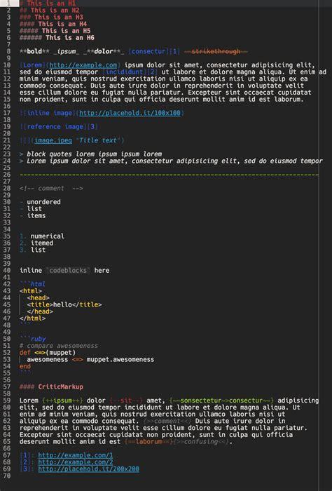 github markdown tutorial github plttn pubster syntax a dark atom theme inspired