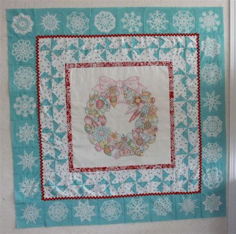 Crabapple Hill Quilts by Crabapple Hill Wreath Quilt Crabapple Hill