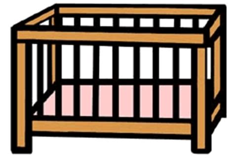 Crib Clipart by Sids Reduction Policy