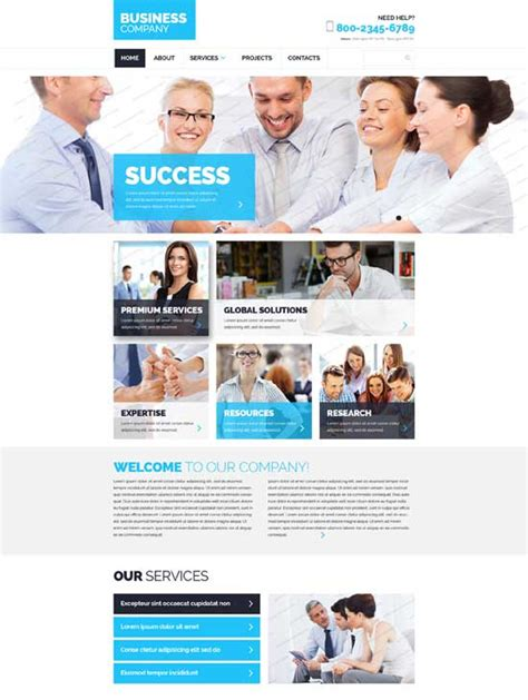 responsive website templates learnhowtoloseweight net 25 premium free responsive css3 html5 website templates