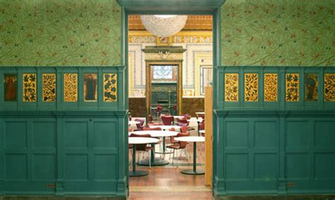 Green Dining Room Morris The Aesthetic Movement And Design The Guardian