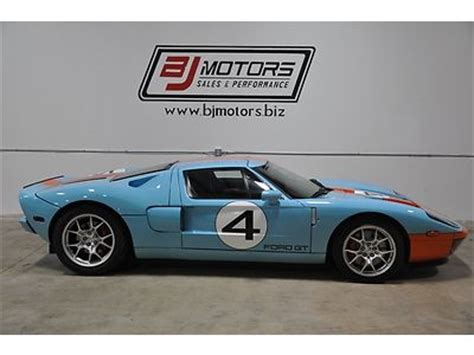 buy used 2006 ford gt gt40 heritage gulf edition in