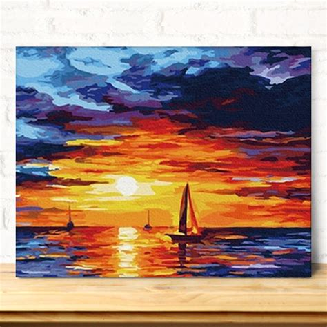 Pensil Alis Cosmos popular seascape painting acrylic buy cheap seascape