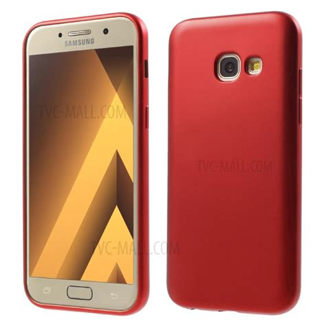 Soft Anticrack Samsung A7 2017 Casing Cover Clear Slim soft tpu protective mobile casing for samsung galaxy a7