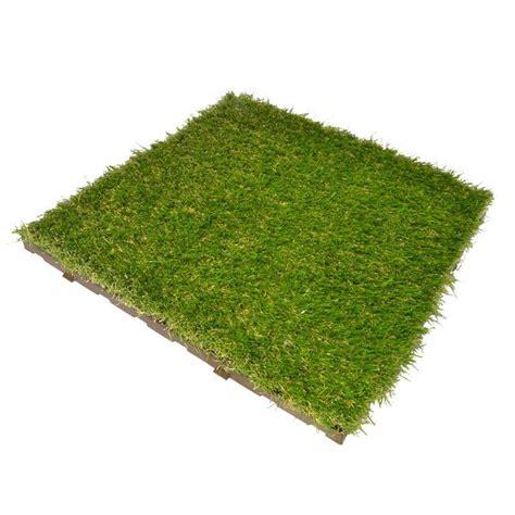 prato artificiale terrazzo erba sintetica a piastrelle per prato realistico modulplate