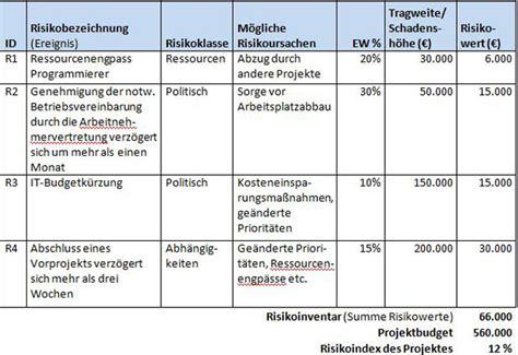 risikomanagement projekt projektumfeld stakeholder risiko