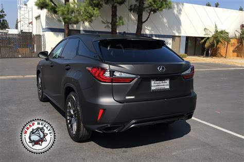 Lexus Rx Wrapped In 3m Matte Black Wrap Bullys