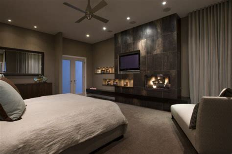 Bedroom Design Tv Wall 15 Contemporary Bedroom Designs