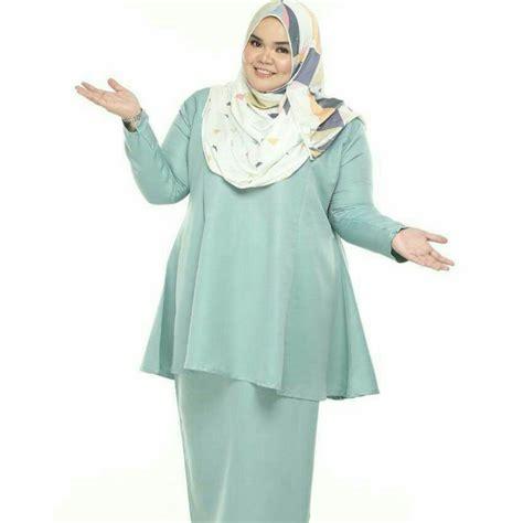 Mono Tunik 5 style muslimah plus size yang cocok dikenakan saat