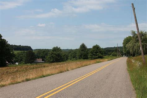 Knob Road by File Knob Mountain Road In Briar Creek Township Columbia