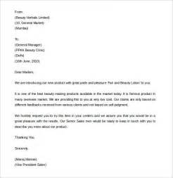 Sle Business Letter For New Product Sales Letter Template 9 Free Word Pdf Documents Free Premium Templates