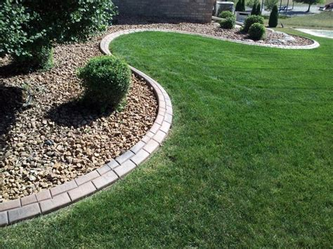 Landscape Edging Services Curb Creations Mn Concrete Landscape Edging Services