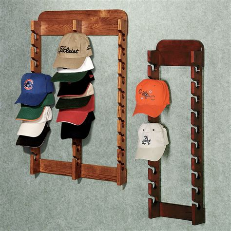 Baseball Hat Rack For Wall will you use this ideas woodworking pool cue rack plans diy