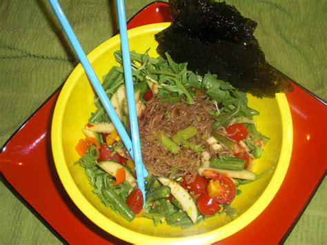 stacys green apple miracle noodle asian salad miracle noodles healthy eating asian salad