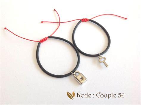 Gelang Pasangan jual gelang karet gelang gelang pasangan pria
