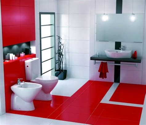 bathroom red and white 20 best bathroom color schemes color ideas for 2017 2018