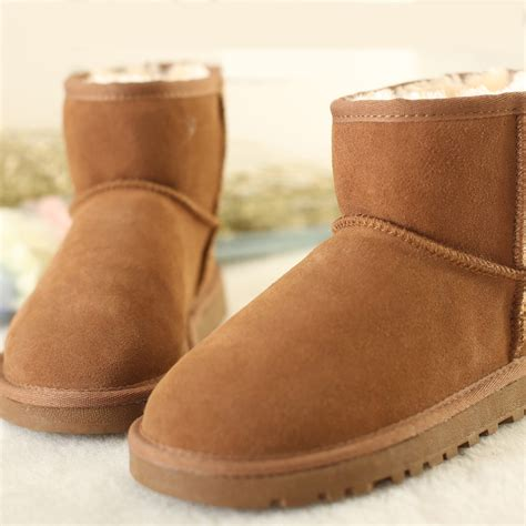 aliexpress boots aliexpress com buy 2014 women real leather snow boots