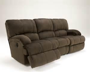 buy kiska chocolate reclining sofa by from www