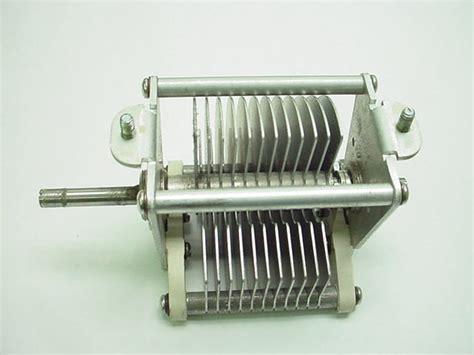 johnson 154 2 air variable capacitor cardwell air variable capacitor 154 1 15 12 244pf 2kv