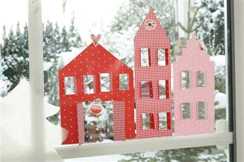 Diy Weihnachtsdeko Fenster by Diy Dezember Teil 1 Ideen Aus Papier Avec Weihnachtsdeko