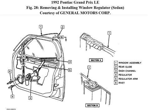 grand prix power window motor wiring diagram wiring diagrams