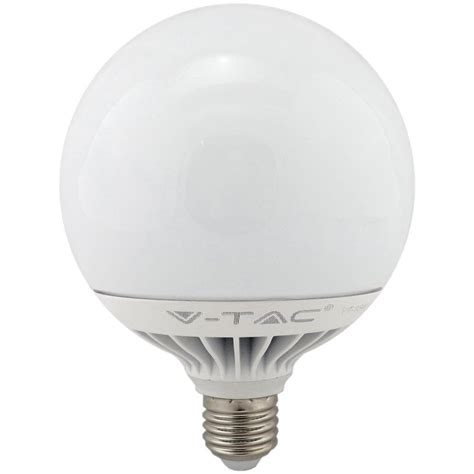 Large Led Light Bulbs V Tac Led 120mm Globe 15w Warm White E27 Non Dimmable