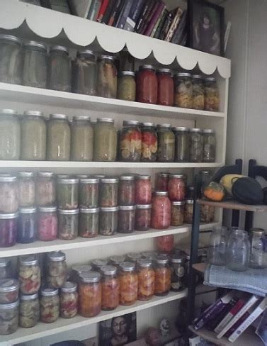 Shelf Of Jarred Food by For Safe Water Bath Canning Countryside Network
