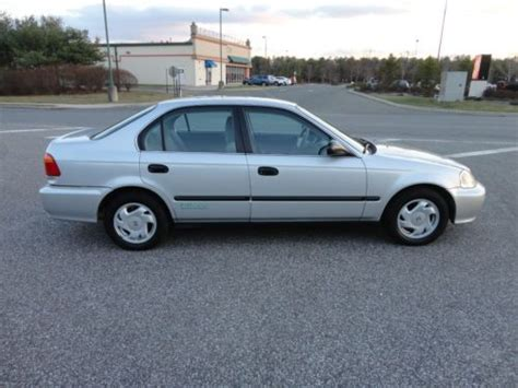 used honda civic cng for sale find used 2000 honda civic gx cng ngv gas sedan