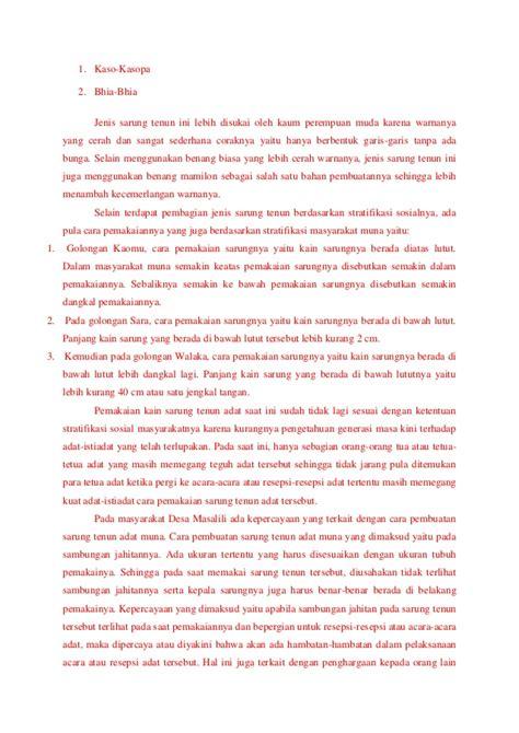 Sarung Tenun Kotabaru 5000 Benang 2 sarung tenun asal desa masalili