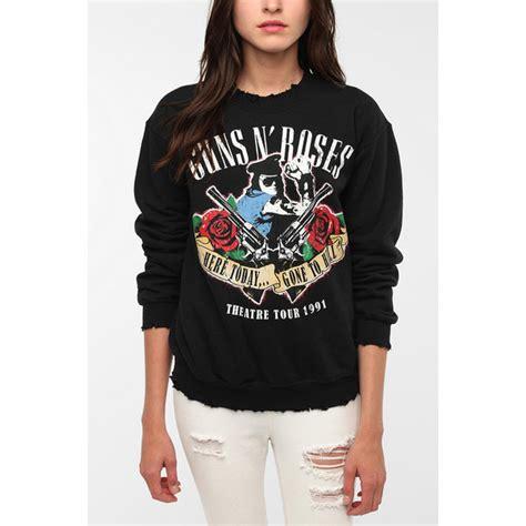 Hoodie Guns N Roses Anime guns n roses rock band sweatshirt polyvore