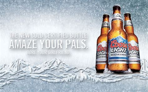 coors light mountain color change cold certified color changing beer labels