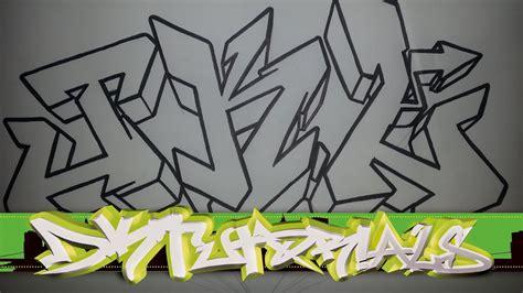 draw graffiti wildstyle graffiti letters jkl step
