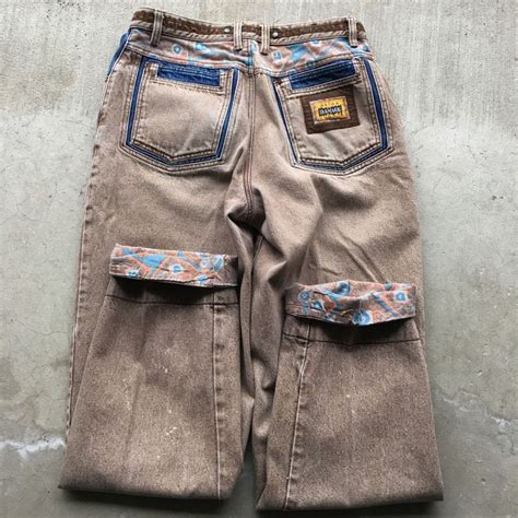 VTG 80s 90s MAJOR DAMAGE Acid Brown Wash Multi Colour