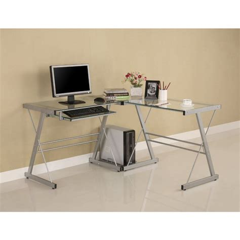 Walker Edison Soreno 3 Piece Corner Desk With Walker Edison Soreno 3 Corner Desk