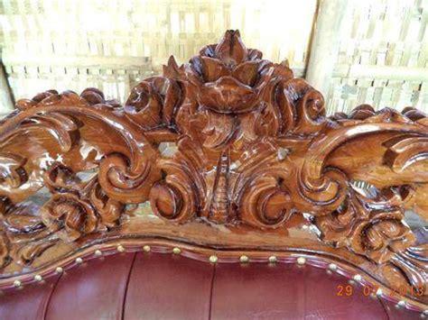 Kursi Sofa Ganesha Jambu Warna Kombinasi jual set kursi tamu jati ganesha royal murah