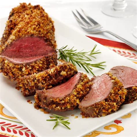 beef tenderloin menu dinner party walnut crusted beef tenderloin thinkfisher