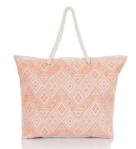 Spiegel Rope Detail Canvas Handbag by Canvas Sun Summer Shoulder Bag
