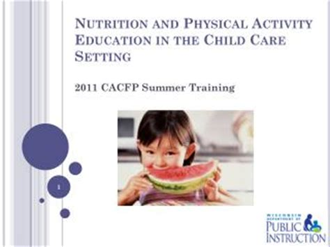 ppt cdc division of nutrition, physical activity and